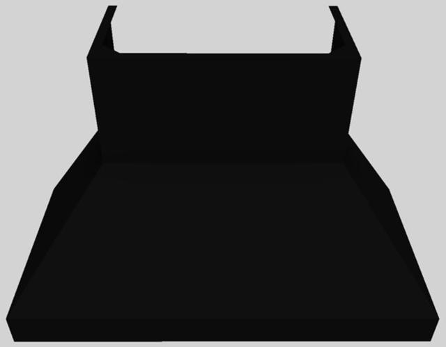 """Vent-A-Hood® 48"""" Euro-Style Wall Mounted Range Hood-Black-EPTH18-348 BL"""