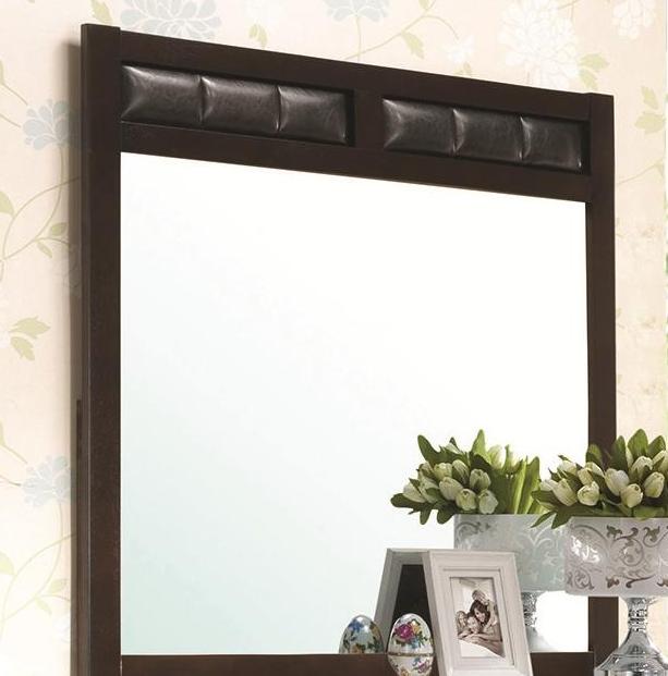 Coaster® Carlton Cappuccino Dresser Mirror-202094