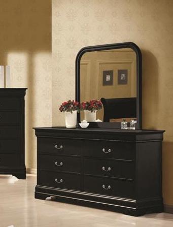 Coaster® Louis Philippe Black Mirror-203964