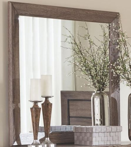 Coaster® Kauffman Washed Taupe Mirror-204194