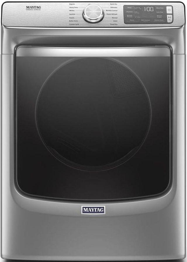 Maytag® 7.3 Cu. Ft. Metallic Slate Front Load Gas Dryer-MGD8630HC