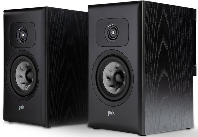 "Polk Audio® LEGEND L100 Black Ash 5.25"" Bookshelf Speakers (Pair)-AM8615"
