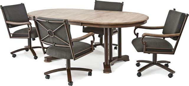 Chromcraft™ O&S Metalcraft™ Dining Table-ML817S+MB435OS