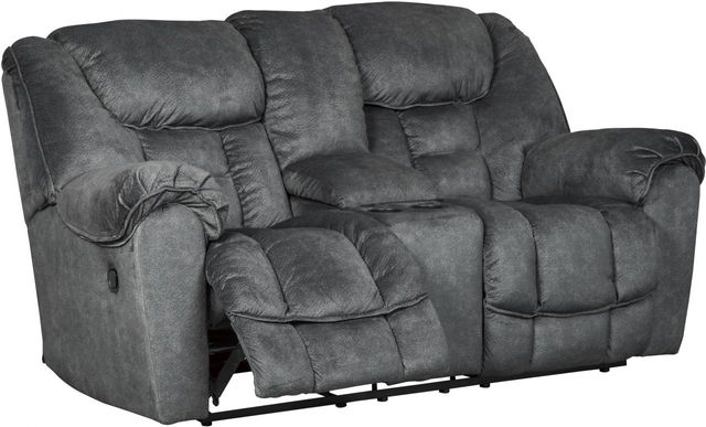 Signature Design by Ashley® Capehorn Granite Double Reclining Loveseat-7690294