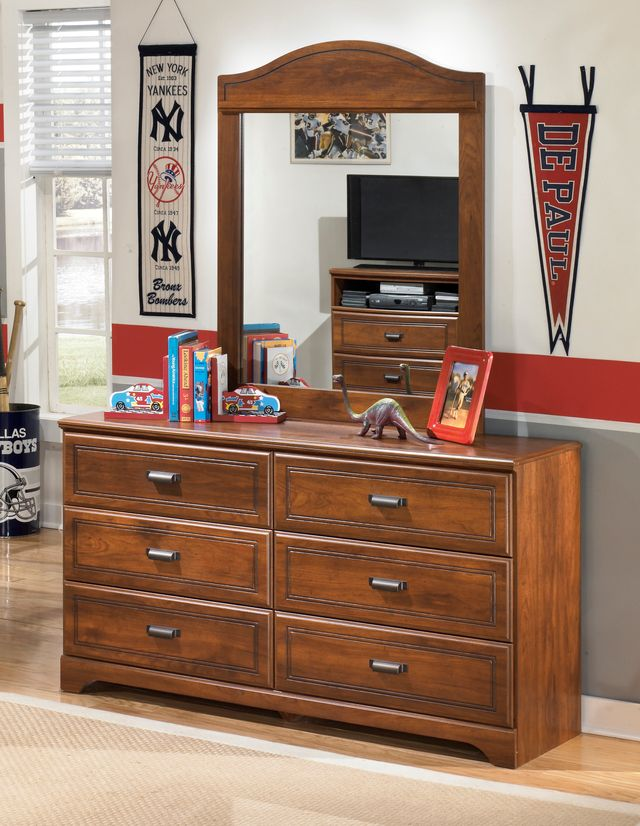 Signature Design by Ashley® Barchan Medium Brown Youth Bedroom Mirror-B228-26