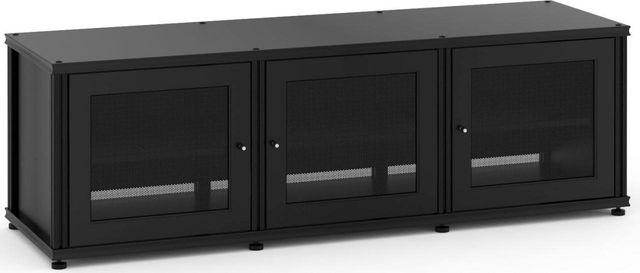 Salamander Designs® Synergy Model 237 AV Cabinet-Black-SB237B/B