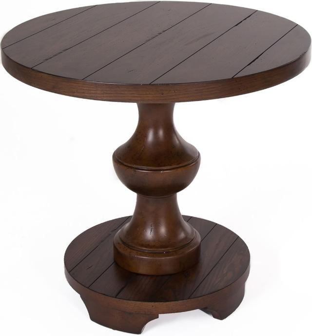 Liberty Furniture Sedona Kona Brown End Table-231-OT1020