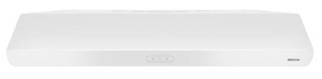 "Broan® Sahale Series 30"" White Under Cabinet Range Hood-BKDD130WW"