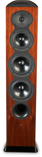 "Revel Performa3 Series 8"" 4-Way Floorstanding Loudspeaker-High Gloss Walnut-F208 WA"
