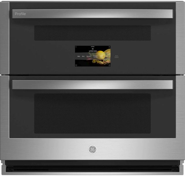 """GE Profile™ 30"""" Stainless Steel Double Electric Wall Oven -PTS9200SNSS"""
