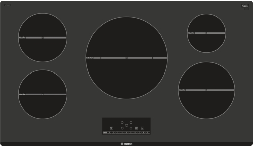 """Bosch 500 Series 36"""" Induction Cooktop-Black-NIT5668UC"""