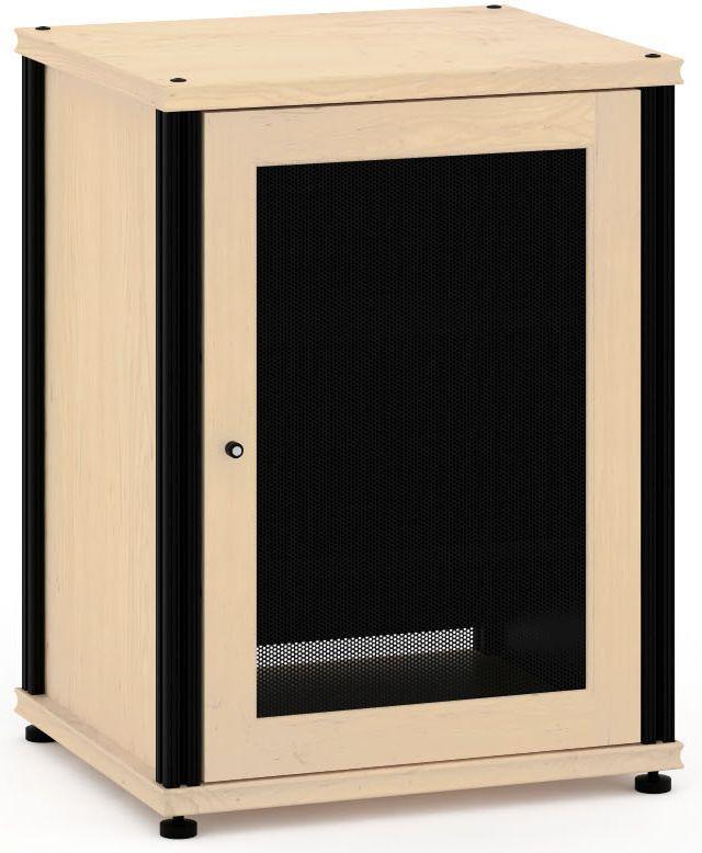 Salamander Designs® Synergy Model 303 AV Cabinet-Natural Maple/Black-SB303M/B
