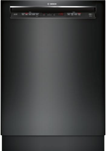 "Bosch 300 Series 24"" Built In Dishwasher-Black-SHEM63W56N"