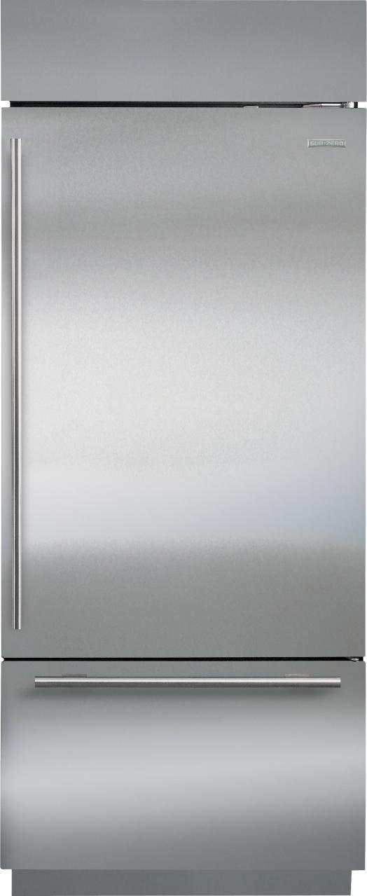 Sub-Zero® 17.4 Cu. Ft. Bottom Freezer Refrigerator-BI-30U/O-LH
