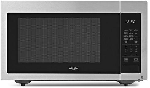 Whirlpool® 1.6 Cu. Ft. Fingerprint Resistant Stainless Steel Countertop Microwave-YWMC30516HZ