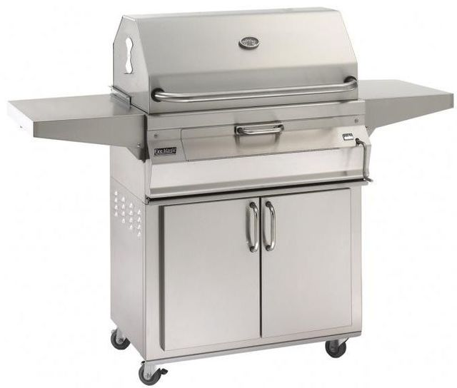 Fire Magic® Charcoal Collection 22 Series Portable Grill-Stainless Steel-22-SC01C-61