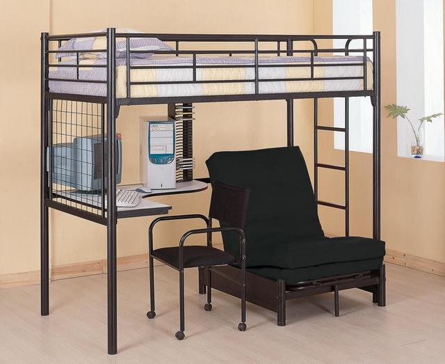 Coaster® Bunks Loft Bunk Bed-Twin-2209