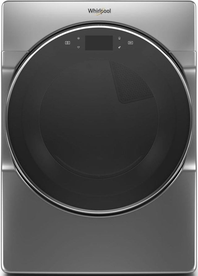 Whirlpool® 7.4 Cu. Ft. Chrome Shadow Front Load Gas Dryer-WGD9620HC