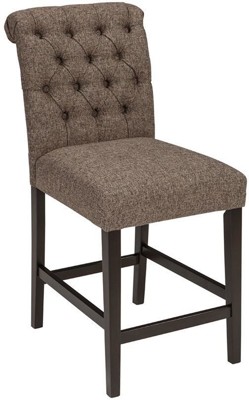 Signature Design by Ashley® Tripton Graphite Counter Height Bar Stool-D530-224
