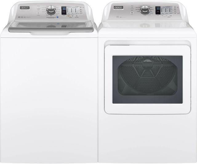 Crosley® White Laundry Pair-CRLAUYTD74E2SNWS