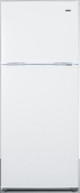 Summit® 9.9 Cu. Ft. Top Freezer Refrigerator-White-FF1084WIM