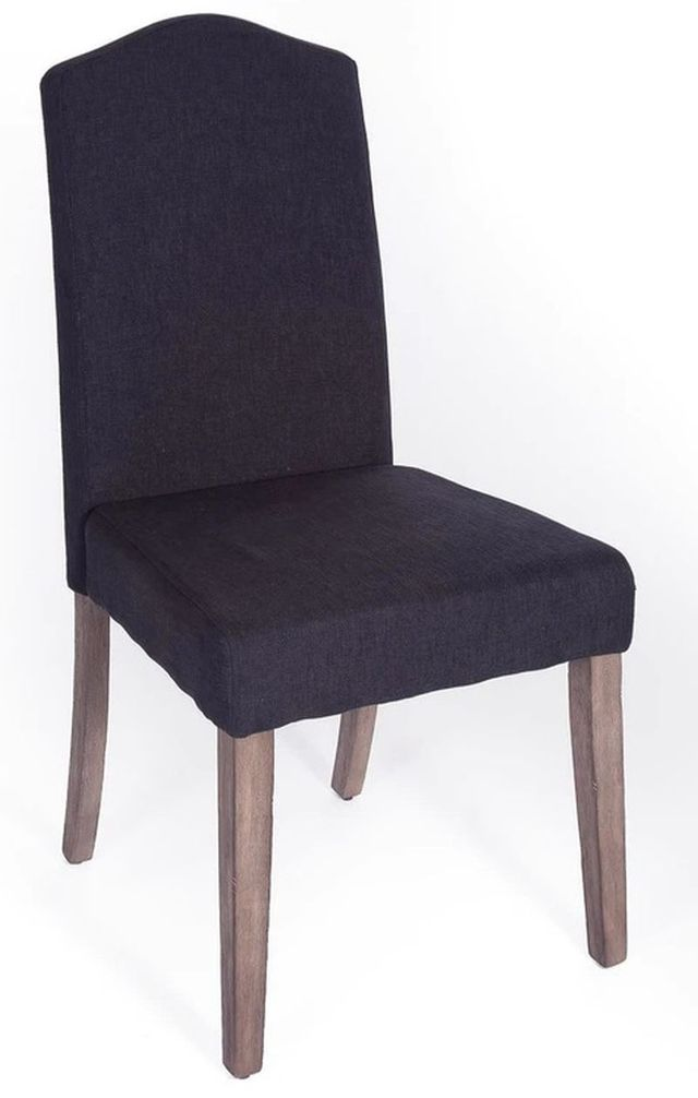 Liberty Furniture Carolina Lakes Distressed Gray Dining Side Chair-140-C6501S-G