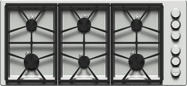 """Dacor® Professional 46"""" Professional Gas Cooktop-Stainless Steel-HPCT466GS/LP/H"""