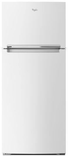 Whirlpool® 17.64 Cu. Ft. Top Mount Refrigerator-White-WRT518SZFW