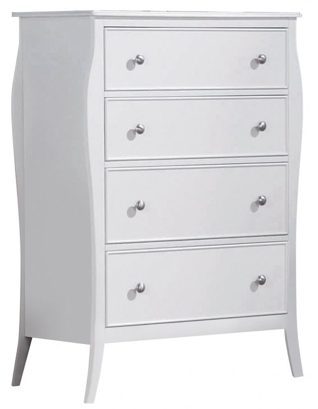 Coaster® Dominique White Youth Chest-400565
