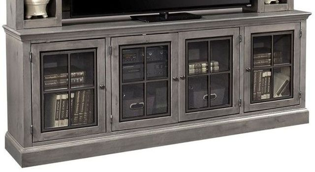 """Aspenhome™ Churchill Smokey Gray 84"""" Console with 4 Doors-DR1260-GRY"""