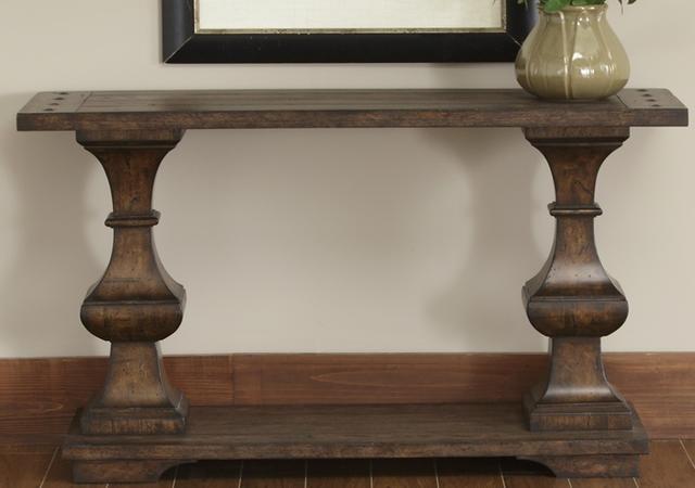 Liberty Furniture Sedona Kona Brown Sofa Table-231-OT1030