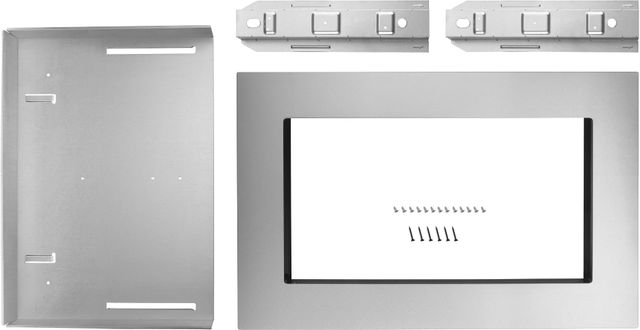 "Whirlpool® 30"" Fingerprint Resistant Stainless Steel Microwave Trim Kit-MK2160AZ"