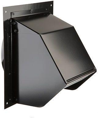Broan® Black Wall Cap-843BL