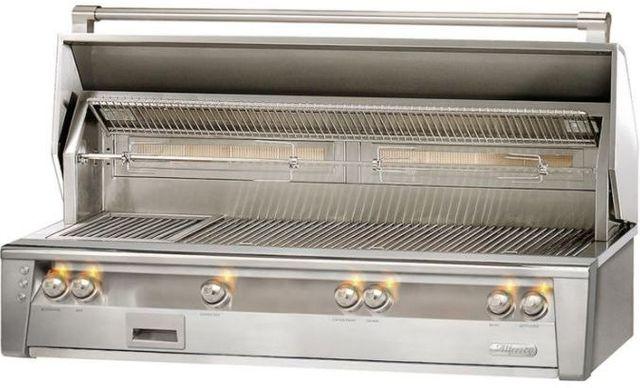 """Alfresco™ ALXE Series 56"""" Built-In Grill-Stainless Steel-ALXE-56BFG-LP"""