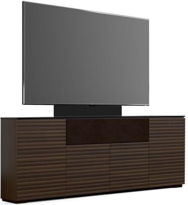 Salamander Designs® Chameleon Zurich Low Profile 345M Opium Brown With TV Mount AV Cabinet-C1/ZU345M/OB