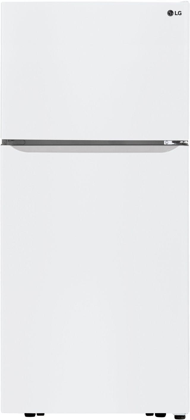 LG 20.2 Cu. Ft. Smooth White Top Freezer Refrigerator-LTCS20020W