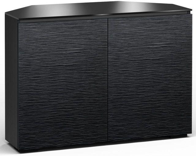 Salamander Designs® Chicago 323 CR Corner Cabinet-Textured Black Oak-C/CH323CR/BO