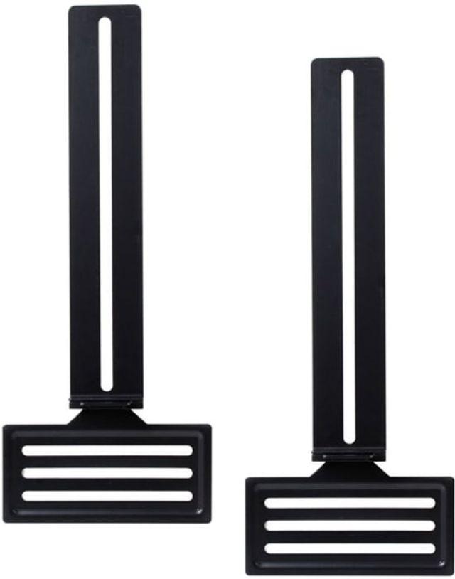 SnapAV Strong® Black Universal Soundbar Bracket-SM-SBAR2-BKT-UNIV