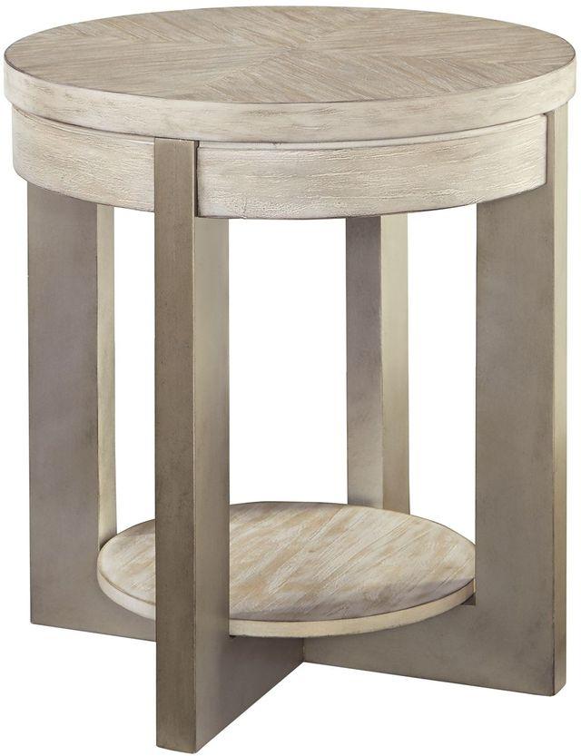 Signature Design by Ashley® Urlander Whitewash Round End Table-T673-6