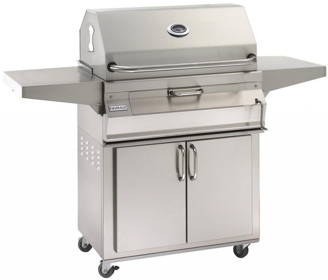 Fire Magic® Charcoal Collection 24 Series Portable Grill-Stainless Steel-24-SC01C-61
