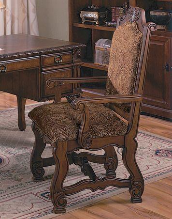 Crown Mark Neo Renaissance Arm Chair-2401A