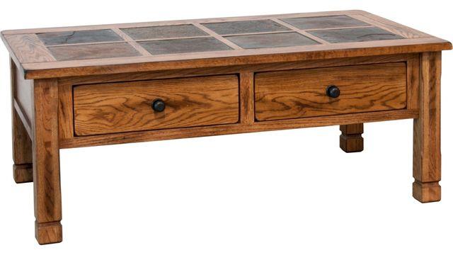 Sunny Designs Sedona Rustic Oak Coffee Table-3143RO2-C
