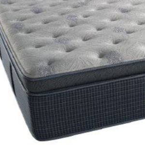 Beautyrest® Silver ™ Take It Easy Plush Pillow Top Queen Mattress-Take It Easy PPT-Q