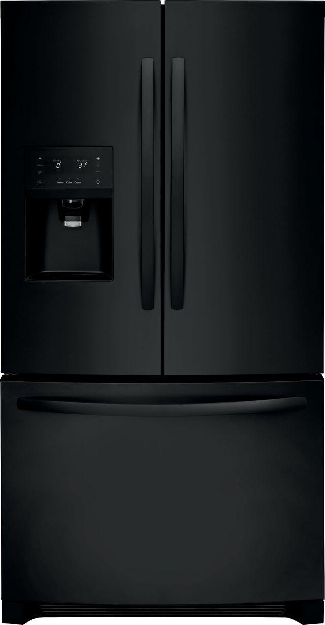 Frigidaire® 26.8 Cu. Ft. Ebony Black French Door Refrigerator-FFHB2750TE
