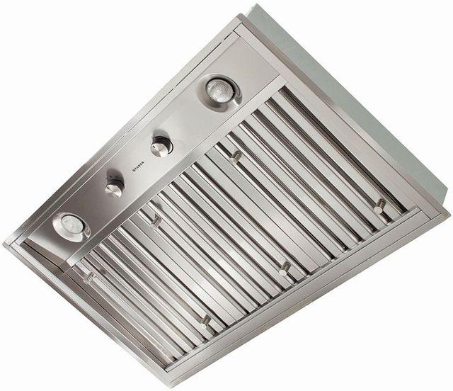 "Faber Inca Pro Plus 35.5"" Stainless Steel Insert Range Hood-INPL3619SSNBB"