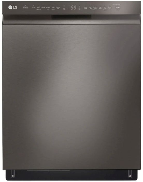 "LG 24"" Black Stainless Steel Built In Dishwasher -LDFN4542D"