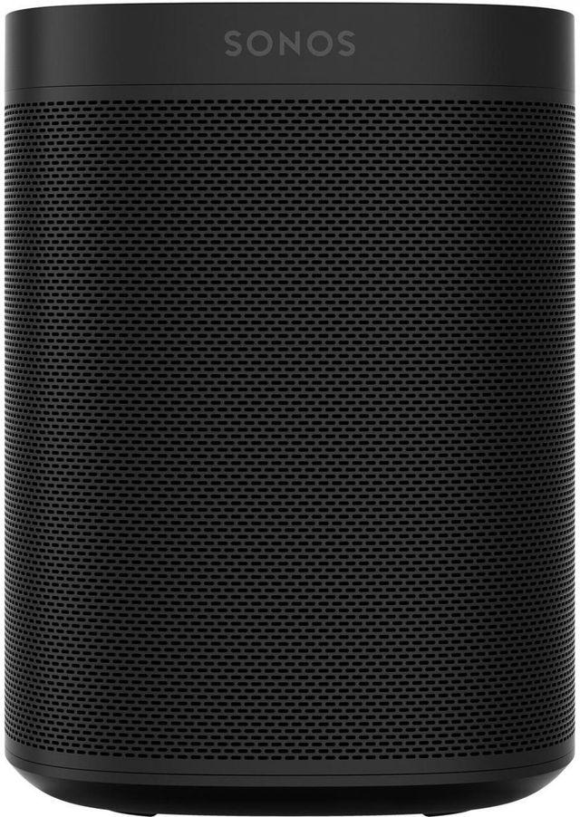 Sonos One (Gen 2) Black Voice Controlled Smart Speaker-ONEG2US1BLK