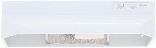 "Broan® 40000 Series 24"" White Under Cabinet Range Hood-402401"