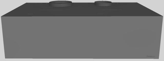 "Vent-A-Hood® 42"" Wall Mounted Range Hood-Gunsmoke-CWH-342 GS"
