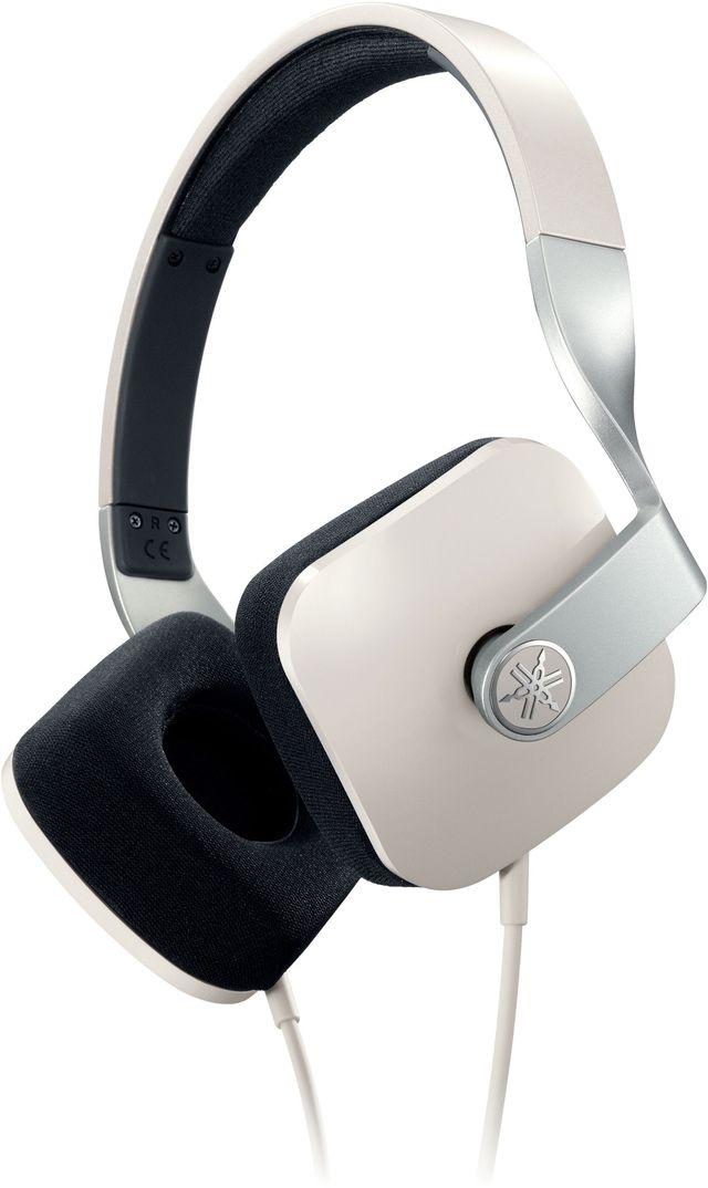 Yamaha® White On-Ear Headphone-HPH-M82WH
